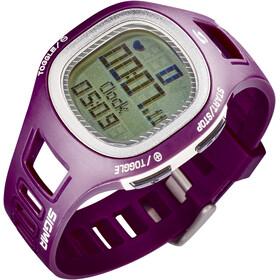 SIGMA SPORT PC 10.11 Montre de mesure de la fréquence cardiaque, purpur